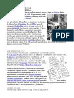 Sucesos Importantes de 1890 a 2010