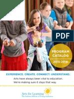 2015 Program Catalog