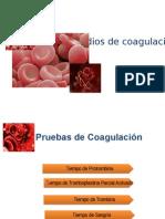 Estudios de Coagulación