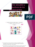 Derechos sexuales y reproductivos de los adolescentes+++ Power point (1)