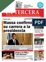 Diario La Tercera 11.06.2015