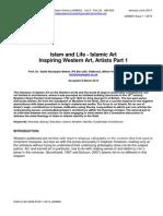 Islam and Life - Islamic Art Inspiring Western Art, Artists Part 1