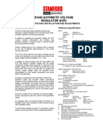 Especificaciones Tecnicas AVR Stamford SX440