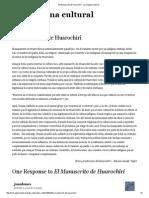 EL MANUuscrito de Huarochiri - La Máquina Cultural