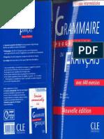 Grammaire Progressive Du Francais - Niveau Intermédiaire
