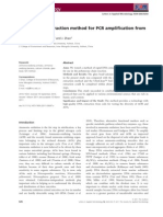 A Rapid DNA Extraction Method for PCR Amplification From