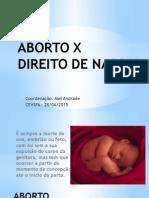 Aborto x Direito de Nascer