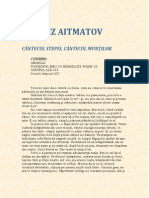 Cinghiz Aitmatov - Cantecul Stepei Cantecul Muntilor.pdf