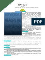 Penal Special II Articole Analizate Sinteză + Grilă (1)