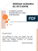 Formulación Estratégica Del Prolema