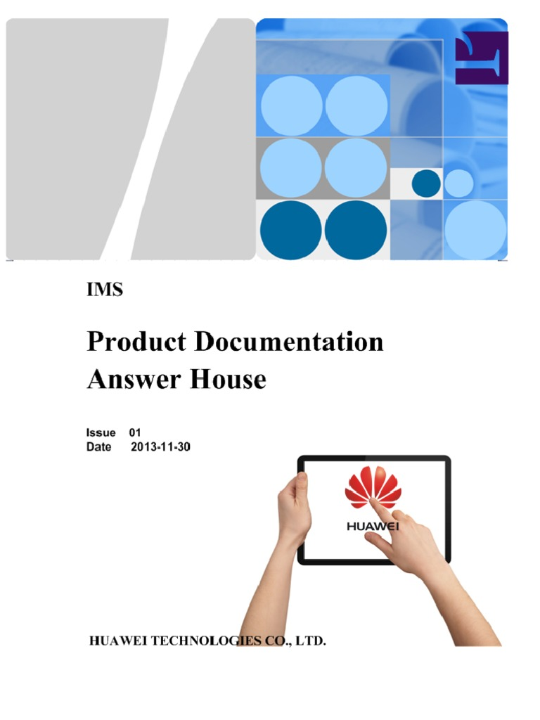 Huawei | Ip Multimedia Subsystem | Session Initiation Protocol