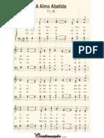 Harpa Crista Com Partitura a Alma Abatida