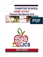 parent handbook grade k8 (2014-2015)