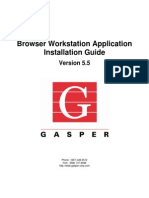 Browser WS Install Guide