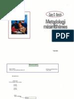 Bardhyl Musai Metodologji e Mesimdhenies