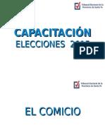 3) El Comicio