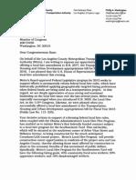 Letter to Rep. Karen Bass