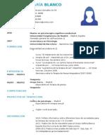 Curriculum Psicologo
