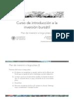 10. Plan de InversioÌ-n a Largo Plazo I