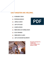 Gas Tungsten Arc Welding