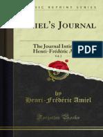 Amiels Journal 1895