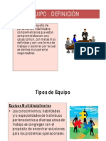 Equipos de Trabajo y Estructura Organizacional