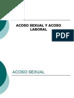 Acoso Sexual y Labora