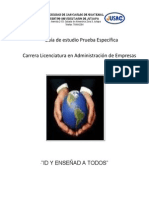 Guia de Estudio Prueba Especifica Administracion