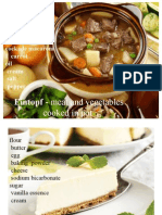 PROIECT Culinar Germania