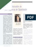 Modelo de Evaluación de los Programas de Capacitación