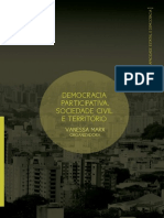 2014 - Vanessa Marx (Org) - Democracia Participativa, Sociedade Civil e Território –UFRGS:CEGOV