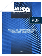 Manual Trabalhos Academicos - UNISA
