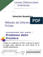 EDO Diferencias Finitas 2015 -I