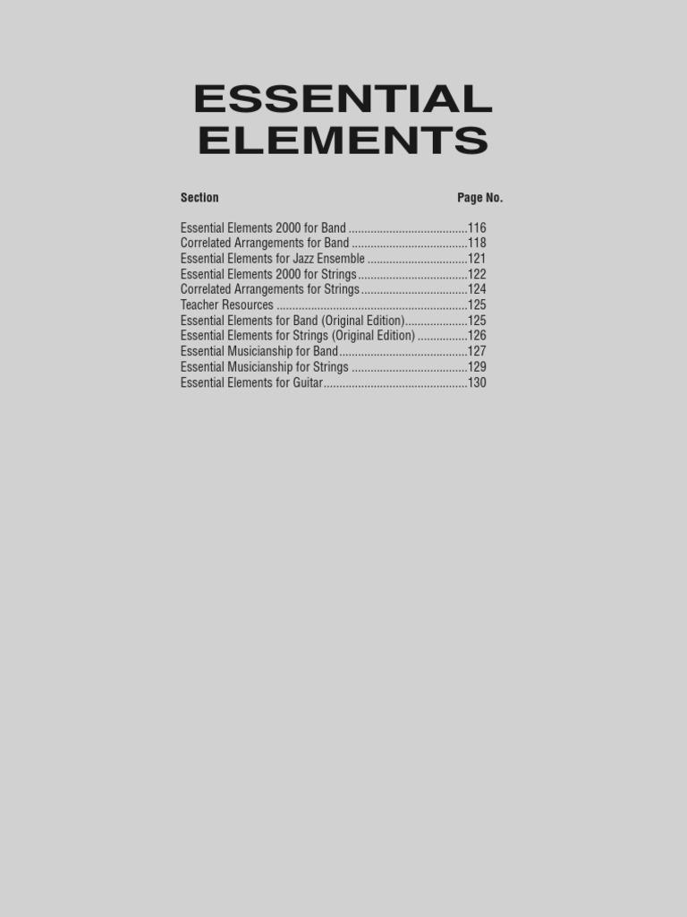 Catalog Instrumental Solo Ensemble | Saxophone | Tenor Saxophone