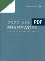 Democracy Alliance vision framework