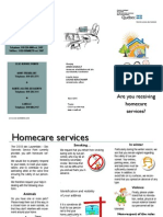 CISSS - Are You Receiving Homecare Services