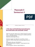 4Matematik II 2015 Sem4x