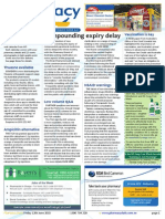 Pharmacy Daily for Fri 12 Jun 2015 - Compounding expiry delay, NSAID warnings, Thuasne available thru phcy, Events Calendar and much more