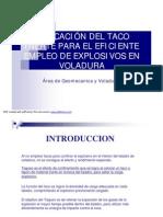 APLICACION DE TACO EN VOLADURA.pdf