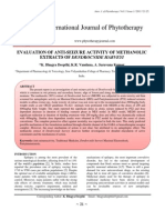 EVALUATION OF ANTI-SEIZURE ACTIVITY OF METHANOLIC EXTRACTS OF DENDROCNIDE HARVEYI