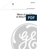 Effects of Load Flow on Line Relay Performance