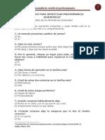 Cuestionario Para Identificar Predominancia Hemisfã‰Rica