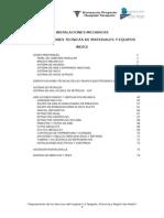 Et Mecanicas Tarapoto ESPECIFICACIONES TECNICAS