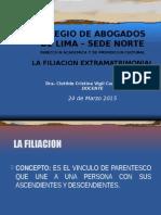 Filiacion Extramatrimominial TEMA 2.ppt
