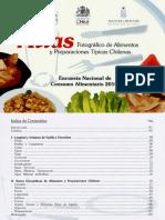 Atlas Fotográfico de Alimentos y Preparaciones Típicas Chilenas