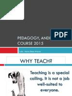 pedagogy- andragogy 2015