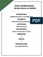Administracion Y Contabilidad (unidad 2 y 3)