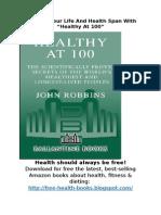 [Download] Healthy at 100 | PDF