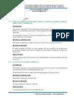 2.- Especificaciones Técnicas Cerco Perimetrico
