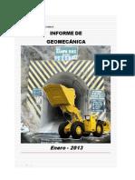 Informe Enero'13 Geomecanica